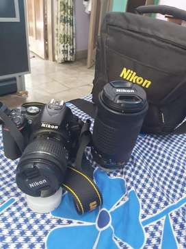 Nickon camera dslr d 5600 all kit available