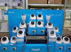 Paket kamera Cctv lengkap gratis pemasangan