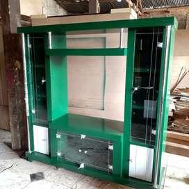 Bufet tv kayu hijau