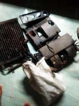 AC mobil Taft Feroza dan kap mesin