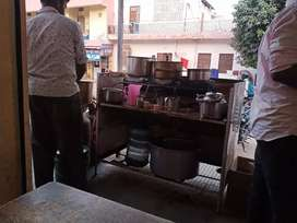 Helper chai saplai ke liye