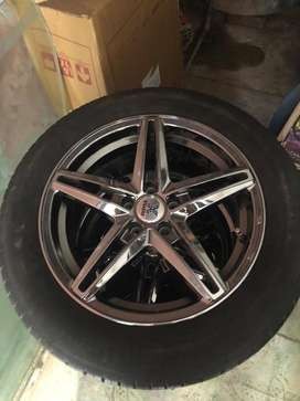 RPM Alloy Wheels with Continental 17 inches tyres