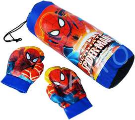 Mainan Samsak Sansak Sarung Tinju Spiderman
