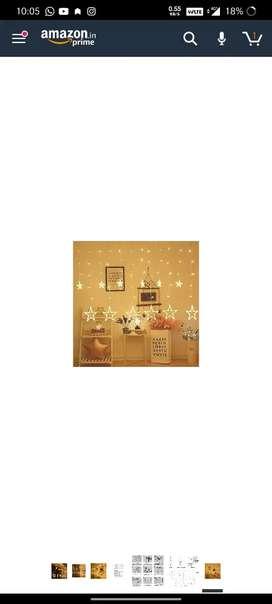 10Days OLD Decorative Star Curtain LED Lights for Diwali