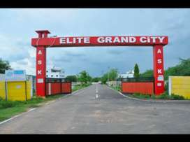 Residential plot sale in thiruporur