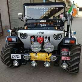 Willys ford jeep customisation work
