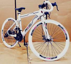 NEW IMPORTED 21 GEARS NEO RACING CYCLE WITH DUAL DISC BRAKES
