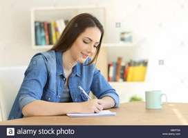 Part time work for home based__