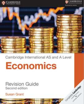 Cambridge AS and A level Economics Revision Guide (2nd edition) Book