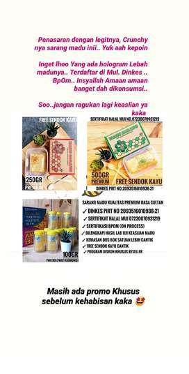 Sarang Madu Halal MUI & Dinkes