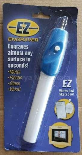 EZ Engraver Alat Ukir Tulis Serbabisa : Logam Plastik Kaca Kayu