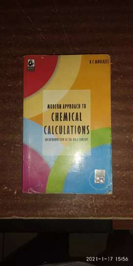 R C Mukerjee Chemical calculations Physical chemistry For Jee M & A