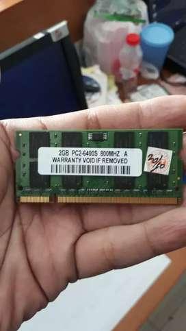 Sodim DDR2 2gb untuk Laptop ready disini