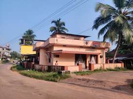 Self contained house with commercial shops for sale at Udupi