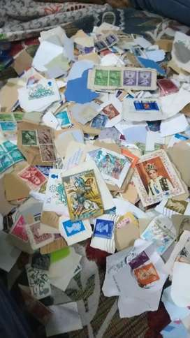 A great collection of stamps going cheap