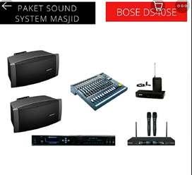 Paket sound masjid speaker Bose original