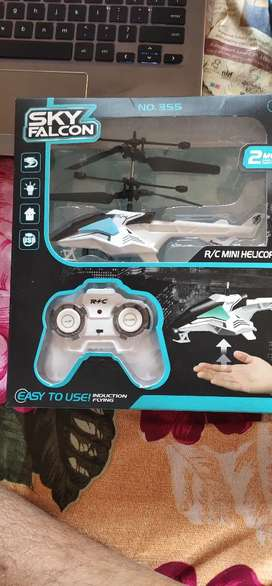 Induction flying Helicopter