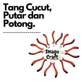Tang Craft Jepit / Cucut / Putar