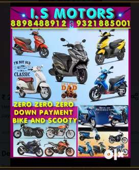 Hero maestro deluxe excellent offer bike Scooty 0 down payment