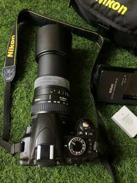 Nikon DSLR Camera photography plus videography With Zoom lens