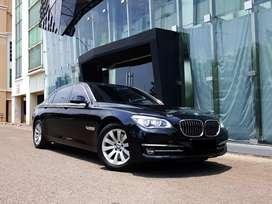 BMW 730Li,2014,Hitam,#Plat,Genap#