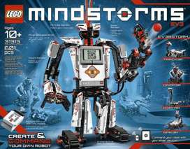 Lego Mindstorms EV3 31313 robotics kit with free batteries and charge