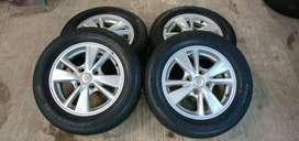 jual velg scond velg std grand avanza r15 hole 4x114,3 plush ban