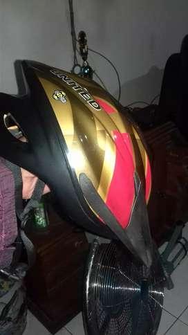 Helm sepeda merk UNITED original