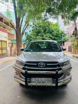 Toyota Innova Crysta 2.4 G Plus MT 8S, 2018, Diesel