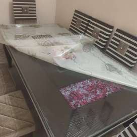 Mirror dining table 8 seater