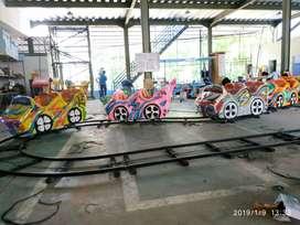 odong2 mini coaster rel datar isi 4gerbong kereta NP