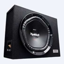 Sony Explode high bass tube woofer with amplifier