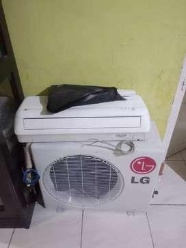 AC merk LG kapasitas 1/2 PK low watt