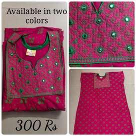 Brand new Designer Cotton Maxi/gown