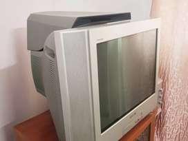 """Sony Bravia Trinitron Flat TV 16"""" with Sony DVD Player"""