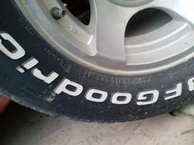 ALLOY RIM AND TYRE AVAILABLE FOR SALE
