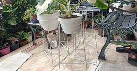 Stand pot besi diameter 23 cm