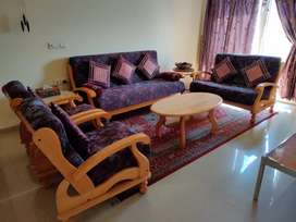 Imported wooden 7Seater Sofa set with Table