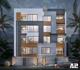 2bhk  flat  900 square  feet  in C2 Palam  Vihar  gurgaon  only 55 Lac