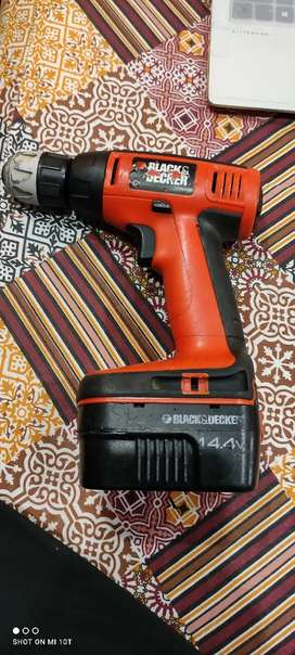 Black and Decker Original Cordless Drill for Sale