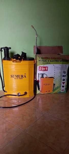 Mesin semprot sprayer eletrik dan manual sumura