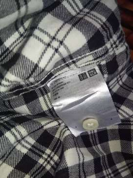 Baju Kemeja Flanel import