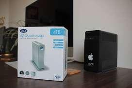 4TB Lacie d2 Quadra USB3 2 units x 15000Rs