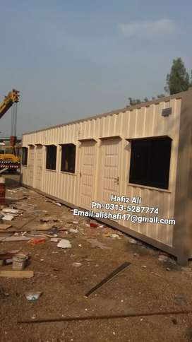 20feet container office portable toilet guard cabins prefab house ..