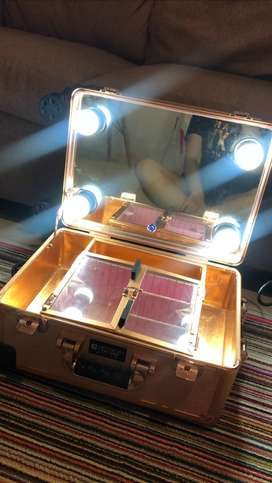 Beauty case armando carusso rosegold speaker