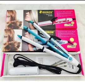 Hair straightener & hair dryer
