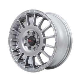 Arrow HSRwheel Ring15x65 H8x100/114.3 Et45 Semi Matt Grey
