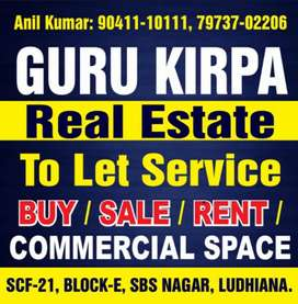 One office nr to ferozpur road fully furnished available in cheap pric