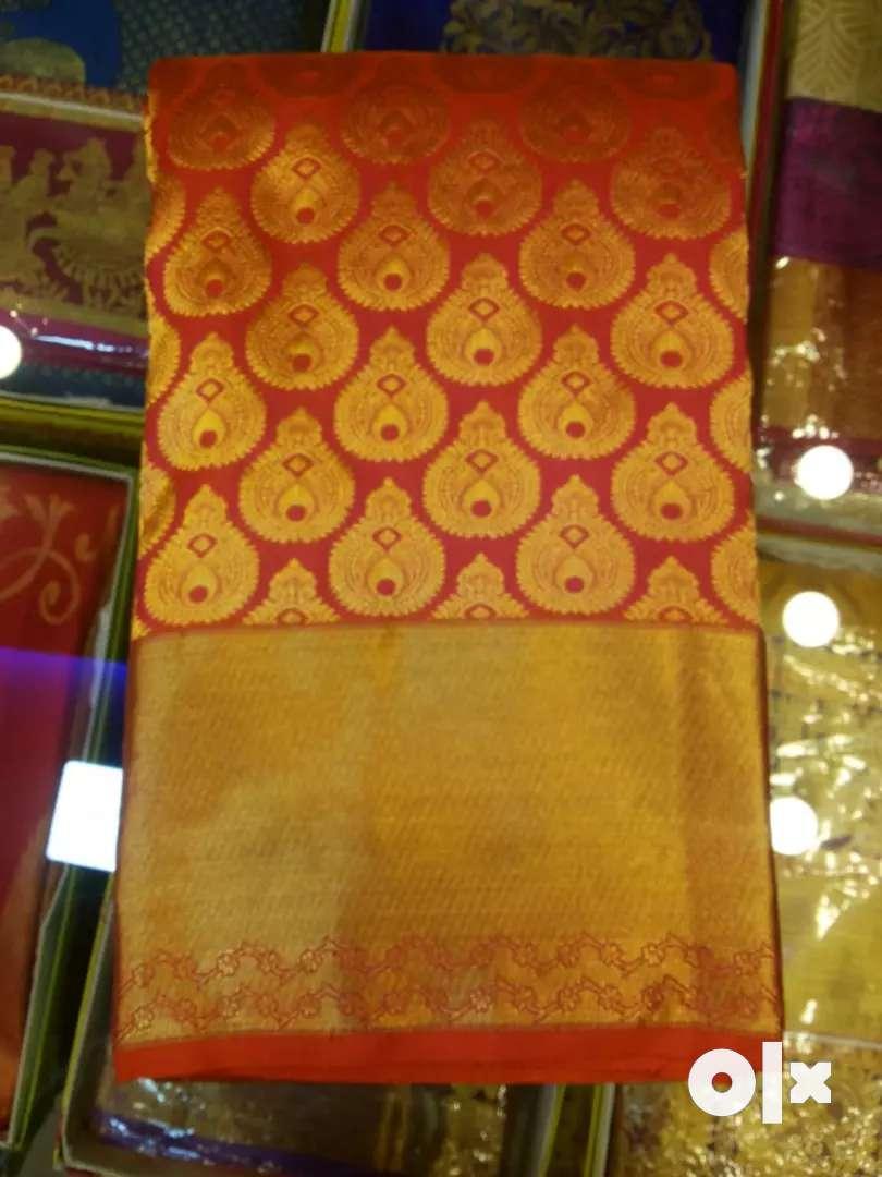 New silk sarees 0