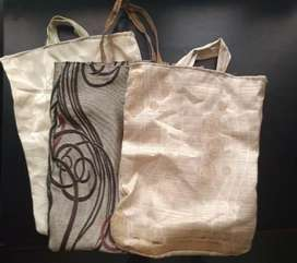 3 Cloth carry  bags